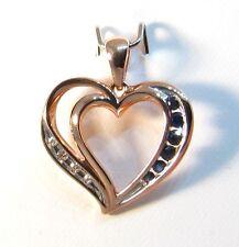 Sapphire Rose Gold Fine Necklaces & Pendants