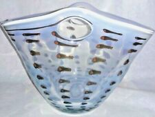 Global Views Vase - Opal Ocelot Basket Vase