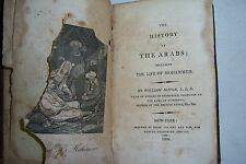 THE HISTORY OF THE ARABS Life of Mohammed By William Mavor. Vol. 10, 1804. Rare