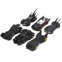 6 PCS Batman Batmobile Model Car Set Gift Toy Vehicle Kids Boys Black