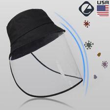 Fisherman Cap Clear Full Face Protective Hat Men Women Anti-spitting Dustproof