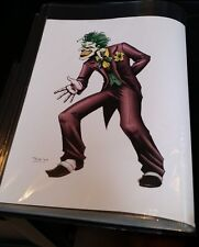 JOCKER PRINT-TOM POLLOCK JR(~9x12)