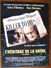 AFFICHE L'HERITAGE DE LA HAINE GENE HACKMAN JAMES FOLEY 1996 40 X60 CM