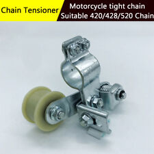 Steel Roller Wheel Chain Tensioner Adjuster For 420/428/520 Motorcycle Chain