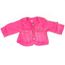 The Children's Place Girls Pink Denim Jacket Size 3-6m EUC