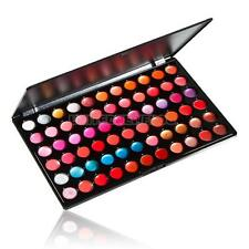 Professional Fashion Party 66 Color Lip Gloss Lipstick Cosmetic Makeup Palette #