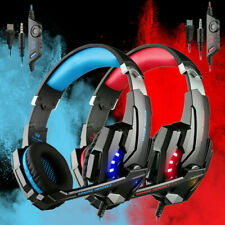 KOTION EACH Gaming Headphones Stereo Game Headset Earphones W/mic for PC PS4
