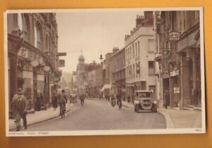 Kent-   Chatham High Street.   Postcard