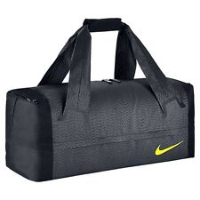 NIKE ENGINEERED ULTIMATUM Compartment Travel Duffle Gym Bag Grey & Volt - LARGE