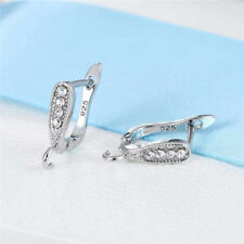 DIY Making Jewelry Earring Findings Earwires Crystal Jewelry Accessory Wholesale