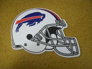 Buffalo Bills Die Cut Helmet  Felt Pennant