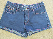 Womens Angels Blue Denim Shorts Sz 5
