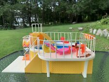 BARBIE DREAM POOL 1980 PATIO FURNITURE & MANY SWIMMING ACCESSORIES - NO RESERVE!