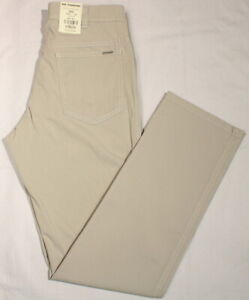Doc Parkers 202 by REVILS super Stretch hellbeige leicht Jeans-Look Top