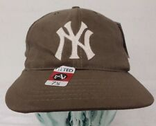 New York Yankees New Brown Men's Exclusive Size 7 1/8 Flat Hat