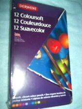 12 Coloursoft Pencils by Derwent New!