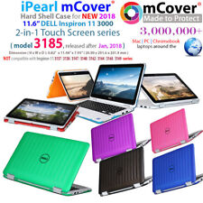 """NEW mCover® Hard Case for 2018 11.6"""" Dell Inspiron 11 3185 P25T 2-in-1 laptop"""