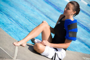 DuraSoft Large Hot Cold Therapy Reusable Shoulder Ice Packs & Sleeve