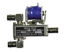 New Tohtsu CX-230L SPDT BNC type Coaxial Relay with 12VDC Coil