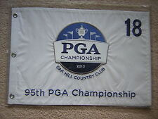 2013 PGA CHAMPIONSHIP GOLF PIN FLAG JASON DUFNER OAK HILL CC EMBROIDERED