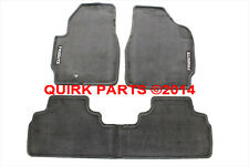 2001-2004 Mazda Tribute Carpeted Floor Mats Set FRONT & REAR GRAY GENUINE OEM