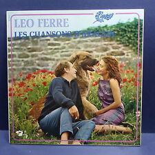 LEO FERRE La chanson d'Aragon 80343s avec rabat