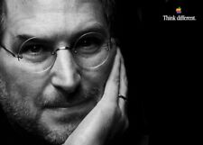Pubblicità Poster APPLE Think Different - Steve Jobs