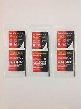 """Olson,Mach Speed, Scroll Saw Blades, 5"""" Plain End, 643R (3R), 36 pieces, Germany"""