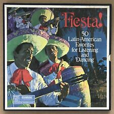 FIESTA!  50 LATIN-AMERICAN FAVORITES FOR LISTENING AND DANCING READER'S DIGEST