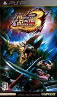 USED PSP Monster Hunter Portable 3rd Best Video Games