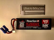 Dynamite Reaction 2.0 14.8V 5000mAh 50C 4S Hardcase LiPo Battery EC5
