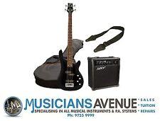 Ashton SPAB4 Bass Guitar & Amplifier Amp Package + Strap Lead & Gig Bag - New