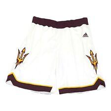 Arizona State Sun Devils NCAA Adidas Women's White F16 Basketball Shorts