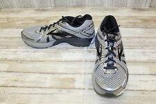 Brooks Adrenaline GTS 17 Running Shoes-Men's size 12 D Silver