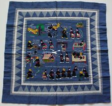 """Hmong Hand Made Embroidered Folk Story Cloth, Tiger Folktale (29""""x29"""")"""