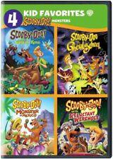 4 Kid Favorites: Scooby-Doo! Monsters [New DVD]