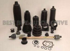 Rack & Pinion Bellow/Boot -6 PIECE KIT-2 Boots 4 Metal Clamps Ford Focus 2000-11