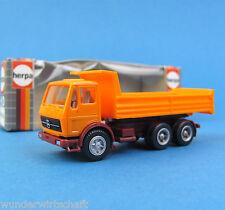 Herpa H0 806501 Mercedes-Benz 3a Kipper-LKW Orange MB OVP HO 1:87 Box