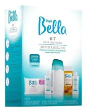 Depilatory Appliance Roll-On Bivolt System Kit Depil Bella Hair Removal Waxing