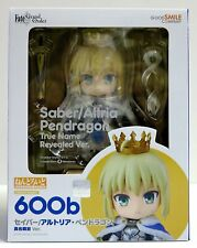 Saber/Altria Pendragon True Name Revealed Ver Nendoroid 600b Action Figure