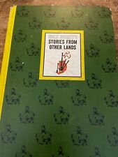 Walt Disney Stories From Other Lands Book Hard Back Vintage 1965