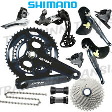 Shimano GRX RX810 Mechanical Groupset 2x11speed New w/RX810 48/31T Crank