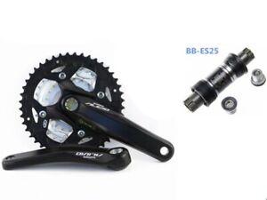 Shimano Alivio Triple Crankset for rear 9spd - BB included, 44/32/22T, 170L -...