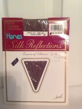 Vintage Hanes Silk Reflections Pantyhose Town Taupe Size Ab Style 719