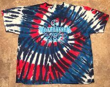 Tie Dyed Waterstock 8 Tim's River Shore Dumfries VA Music Festival T-Shirt XL
