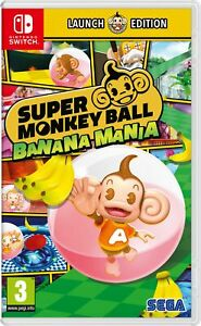 Super Monkey Ball Banana Mania Launch Edition (Switch) Brand New & Sealed