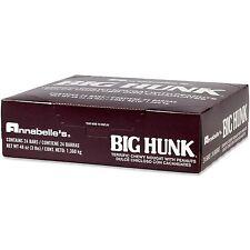 One Box Folded = 24 Nostalgic large Annabelle's Big Hunk Candy bars / Taffy