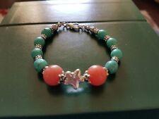 Stone Jade Tibetan Silver Costume Bracelets