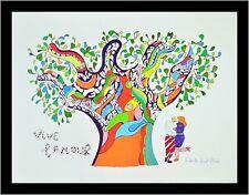 Niki de Saint Phalle Vive l'amour Poster Kunstdruck Bild mit Alu Rahmen 30x40cm