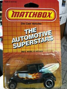 482 -Matchbox Die-Cast Metal-Autto  Set of 4 1987 New Free Shipping